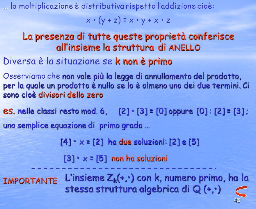 [4] • x = [2] ha due soluzioni: [2] e [5]